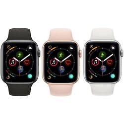 Kyпить Apple Watch Series 4 40mm 44mm GPS + Cellular 4G LTE - Gold Space Gray Silver на еВаy.соm