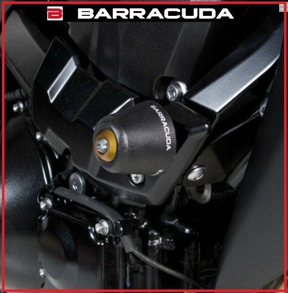 KIT TAMPONI SLIDER PARATELAIO BARRACUDA KAWASAKI ER6N 2012 - 2016 / 12 - 16