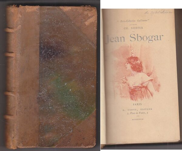 C1 Charles NODIER - JEAN SBOGAR Collection GUILLAUME 1894 Marold Mittis Picard