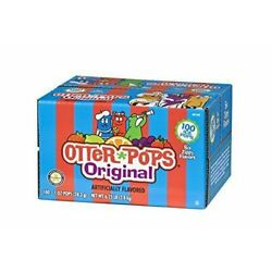 Otter Pops Ice   Gluten & Fat Free Pops, 100 Count (Pack of 1)