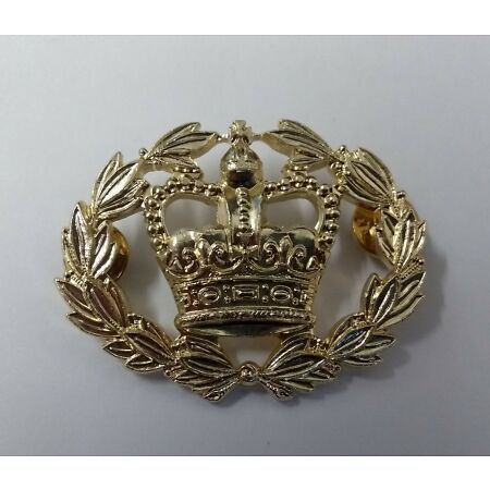 img-Genuine British Army Issue Warrant Officers WO2 RQMS Wrist Strap Badge - NEW