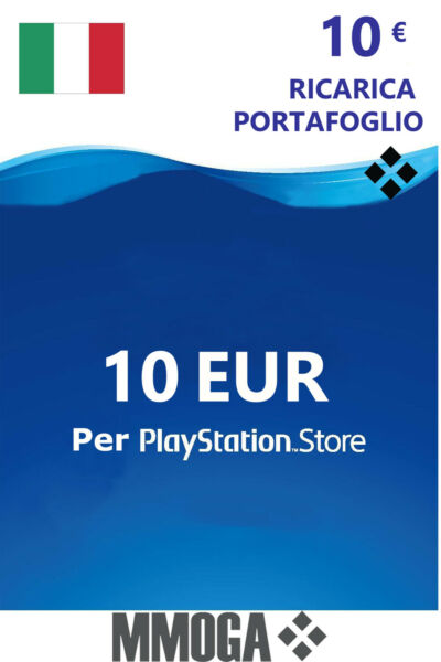 10€ Eur PlayStation codice prepagato - 10 EURO PSN Network PS4 PS3 PS Vita - IT