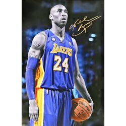 Kyпить KOBE BRYANT LAKERS LEGEND POSTER, size 24x36 на еВаy.соm