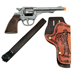 Billy The Kid Cap Gun Pistol And Holster Set New Parris Manufacturing Free Ship