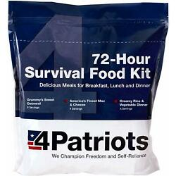 Kyпить 4Patriots 72-Hour Food Supply Kit - Survival - Emergency 16 Servings на еВаy.соm