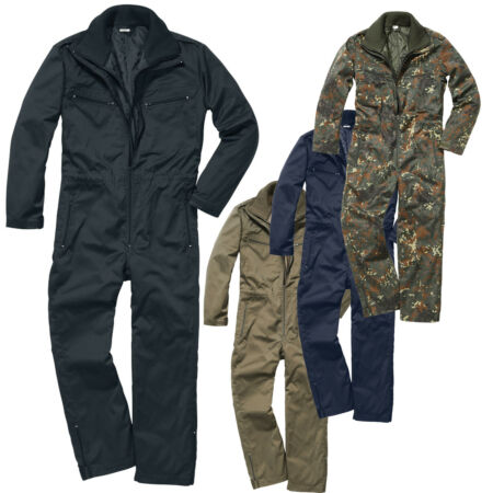 img-Brandit Armor Combi Overall Quality Army Bw Outdoor Work Combi Jacket Camo