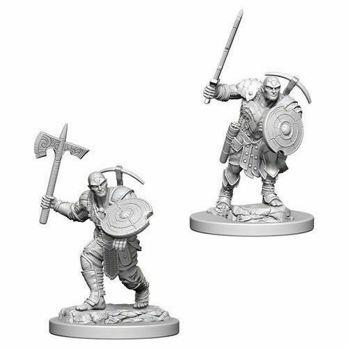 GroßbritannienDungeons & Dragons Nolzur's  Unpainted Miniatures Earth Genasi Male ...