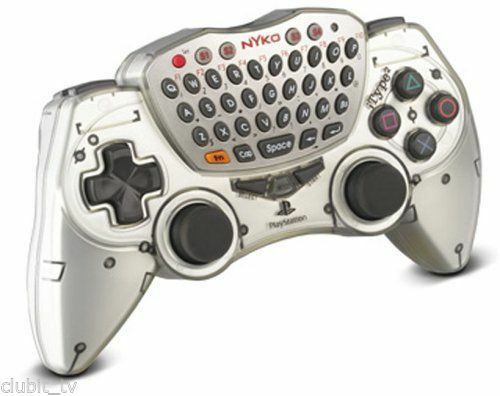 Royaume-UniPLAYSTATION 2 Manette PS2 Nyko Itype Compact Clavier Online Gaming Pad