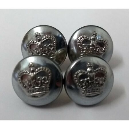 img-Genuine Vintage British Prisons service Royal Crown Insignia Buttons 20L ASBT153