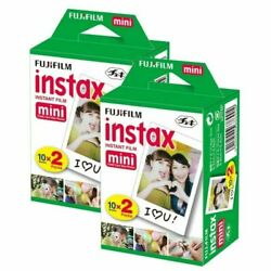 Kyпить 40 Fujifilm Instax Mini Instant Film Sheets For Mini 8-9 & all Fuji Mini Cameras на еВаy.соm