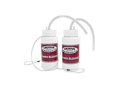 Motive Products Set of 2 Power Bleeder Brake Bleeder Catch Bottles (1820) Pair