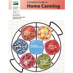 Food And Agriculture National-Comp Gt Home Canning BOOK NEW