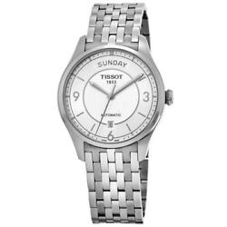 Kyпить New Tissot T-Classic T-One Automatic Day-Date Men's Watch T038.430.11.037.00 на еВаy.соm