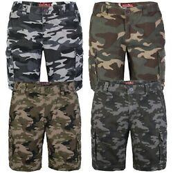 Kyпить westAce Mens Army Cargo Combat Shorts Casual Work Cotton Flat Front Half Pant на еВаy.соm