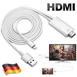 Kyпить Lightning zu HDMI AV Kabel Adapter Video HDTV 1080P für iPhone X 6 7 8 11 iPad на еВаy.соm