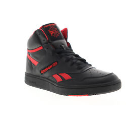 Kyпить Reebok BB 4600 EH3332 Mens Black Leather High Top Basketball Sneakers Shoes на еВаy.соm