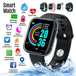 Kyпить Waterproof Smart Watch Heart Rate Tracker Fitness Wristband For iPhone Android на еВаy.соm