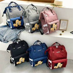 Kyпить Multi-use Mickey Large Mummy Baby Diaper Nappy Backpack Mom Changing Travel Bag на еВаy.соm