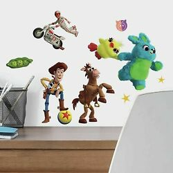 Toy Story 4 RoomMates Vinyl Wall Bedroom 38 Removable Decal Stickers