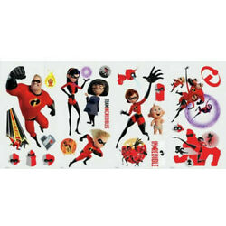 The Incredibles 2 RoomMates Vinyl Wall Bedroom 23 Removable Decal Stickers