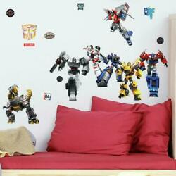 Transformers All Time Favorites RoomMates Vinyl Wall 25 Bedroom Decals Stickers