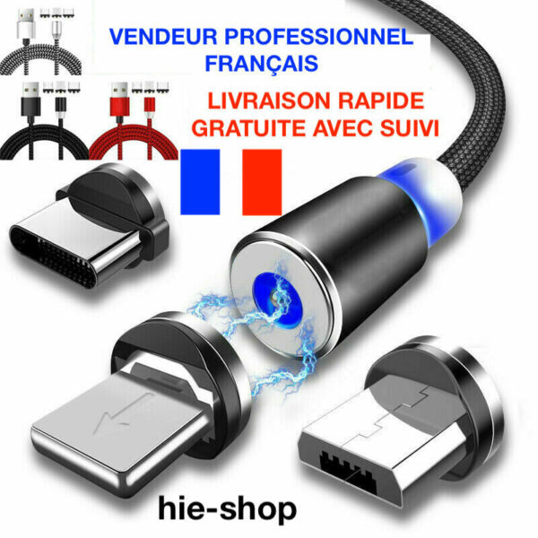 Authie,FranceCABLE  USB LED CHARGEUR MICRO USB SAMSUNG GALAXY .