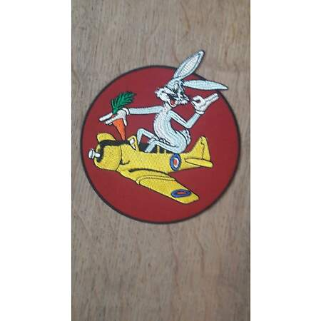 img-548th Bomb Squadron 8th Aaf Bugs Bunny Patch Airforce Pilots A2 Jacket US Army