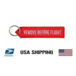 Kyпить Remove Before Flight Double Side FTG Drones Red Embroidered Tag Ripcord 1 PC USA на еВаy.соm