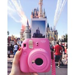 Kyпить Flamingo Pink Fujifilm Instax Mini 9 Instant Film Polaroid Camera  на еВаy.соm