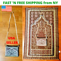 Kyпить Muslim Travel Mat, Islamic Prayer Rug janamaz Turkish Sajda Best Quality- Gray на еВаy.соm