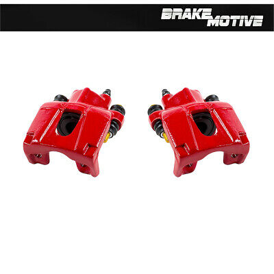 For 2006 - 2010 JEEP GRAND CHEROKEE COMMANDER Rear Red Brake Calipers