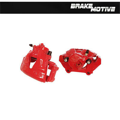 Front Red Powder Coated Brake Calipers For VW BEETLE GOLF JETTA PASSAT
