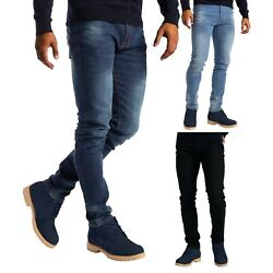 Kyпить Mens Stretch Slim Fit Jeans Fashionable 5 Pocket Denim Pants на еВаy.соm