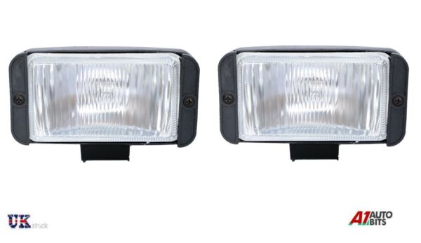 Royaume-UniPaire Universel X2 12V 4X4 Offroad Voiture Phare Anti Brouillard Feux Lampe