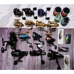 Kyпить Assorted 14 Pcs Brand New Fish Reels Spinning Reels All Model Lure Sales на еВаy.соm