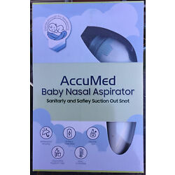 Kyпить Baby Nasal Aspirator Electric Nose Cleaner Safe Hygienic Nostril By: AccuMed NIB на еВаy.соm