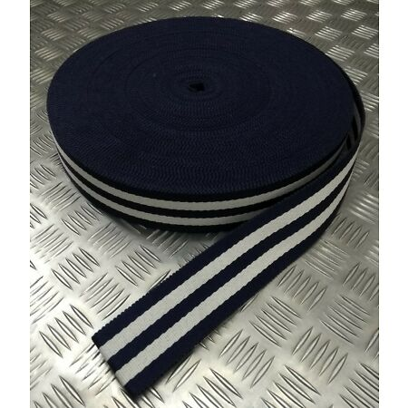 img-Genuine Trinidad & Tobago Police Force Cotton Canvas Stable Belt Material NEW