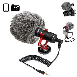 Kyпить Supercardioid Shotgun Microphone MIC Video For Smartphone DSLR Camera PC iPhone на еВаy.соm
