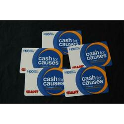 Kyпить $500.00 Giant Grocery Stores Gift Cards For $450.00 на еВаy.соm