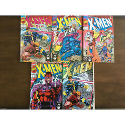 Kyпить X-MEN # 1 A B C D E LOT MARVEL COMICS 1991 JIM LEE NEAR MINT (WOLVERINE GAMBIT) на еВаy.соm