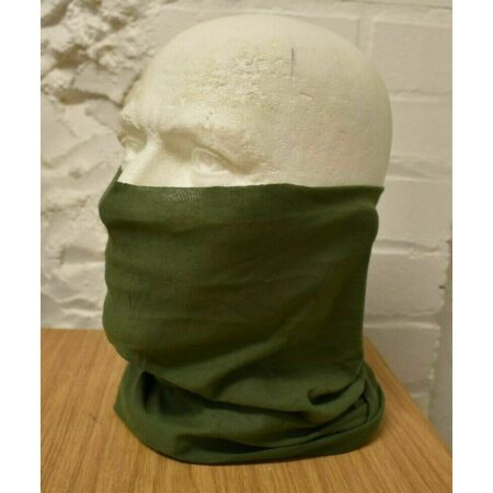 img-ARMY HEADOVER SNOOD SCARF MILITARY HEAD WRAP LIGHT OLIVE GREEN