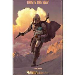 Kyпить STAR WARS: THE MANDALORIAN - TV POSTER (SEASON 2 - THIS IS THE WAY) (24