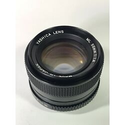 Kyпить Yashica ML 50mm f1.4 (Great Condition ) Made In Japan . на еВаy.соm
