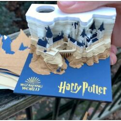 Kyпить Harry Potter Memo Pad Reveals Hogwarts Castle as You Tear Away Notes Gift на еВаy.соm