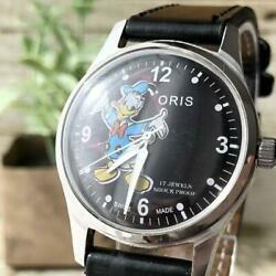 Kyпить [Oris ]Men's Watch Antique Vintage Manual Winding Black Rare : Stainless Steel на еВаy.соm