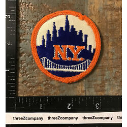Kyпить Vintage NEW YORK Travel Souvenir Patch Mets Baseball Style NY на еВаy.соm