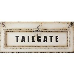 Kyпить New Truck Tailgate wall Hanging in Distressed Vintage Metal - 45 inches на еВаy.соm