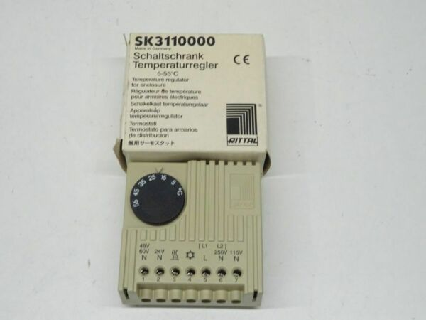 AllemagneRittal Sk 3110000 Armoire de Commande Thermostat Neuf Emballage