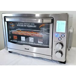 Kyпить Bella 90082 Pro Series 6-Slice Air Fryer Toaster Oven Convection Stainless Steel на еВаy.соm