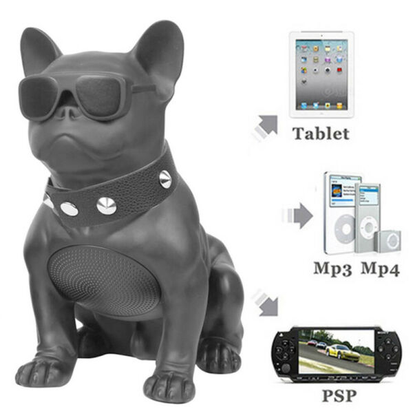 United KingdomHIFI FM TF Bulldog Super Bass Wireless Bluetooth Speaker Mini Stereo Sound Box